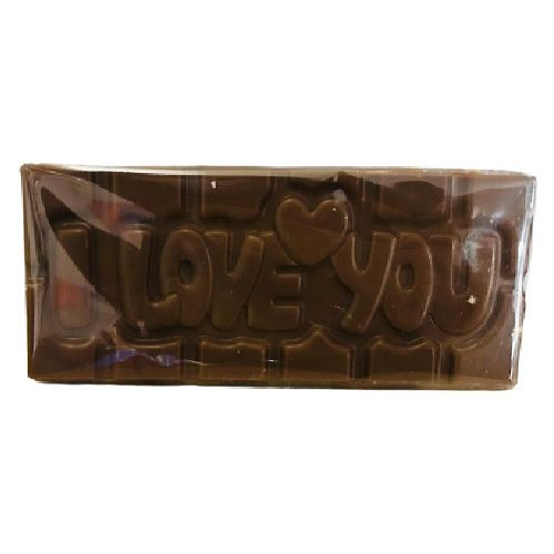 Tablette Chocolat Lait Caramel / Message